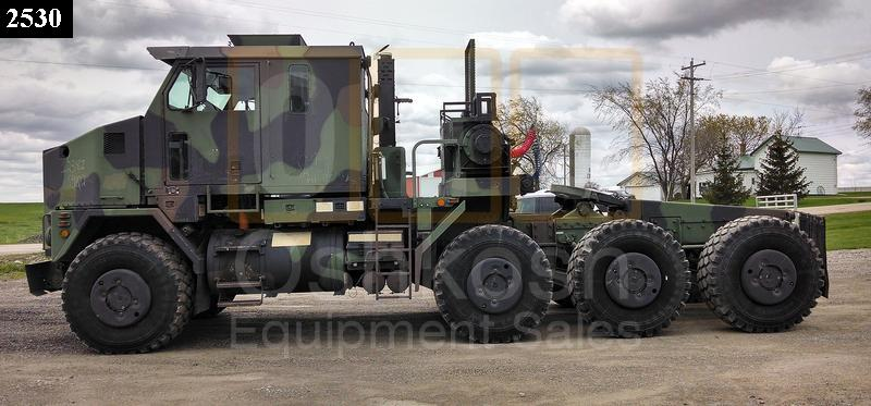 M1070 8x8 HET Military Heavy Haul Tractor Truck (TR-500-59) - Used Serviceable