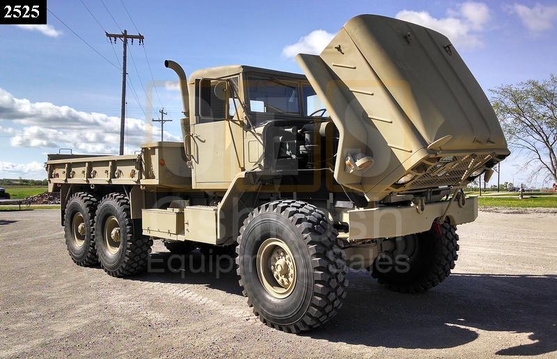 M923 5 Ton 6x6 Military Cargo Truck (C-200-90) - Rebuilt/Reconditioned