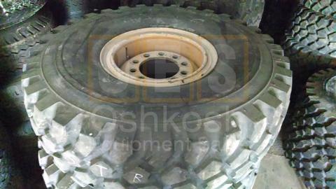 16.00R20 Michelin XZL Tire on Wheel 90%+ (steer)