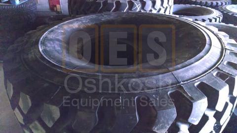 16.00R20 Michelin XZL Tire with Bead Lock / Run Flat