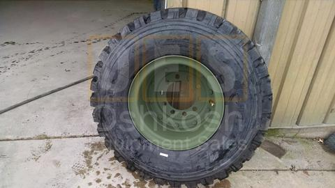 395/85R20 Michelin XZL Tire on Combat Wheel