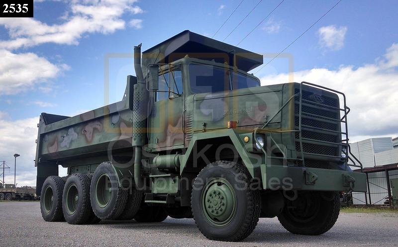 M917 20 Ton 8x6 Military Dump Truck (D-300-80) - Rebuilt/Reconditioned