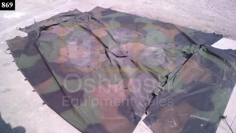 3 Color One Piece Cargo Cover 14ft - Used Repairable