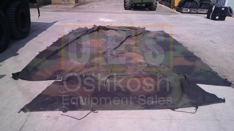 3 Color One Piece Cargo Cover 14ft