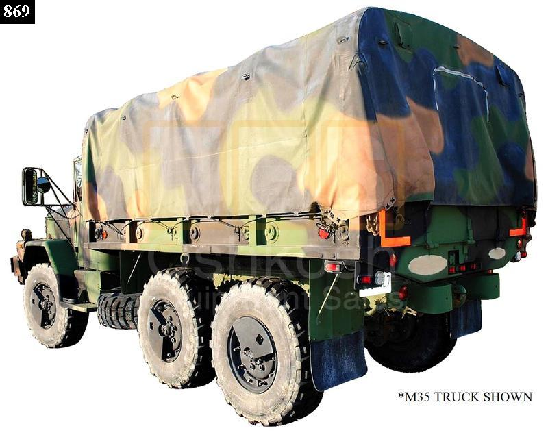 3 Color One Piece Cargo Cover 14ft - New Replacement