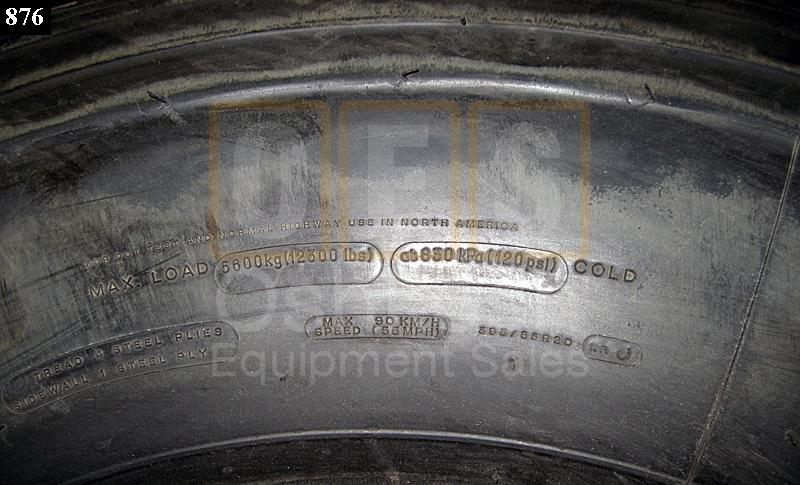 395/85R20 Michelin XZL Tire W/ Run Flat - New Replacement