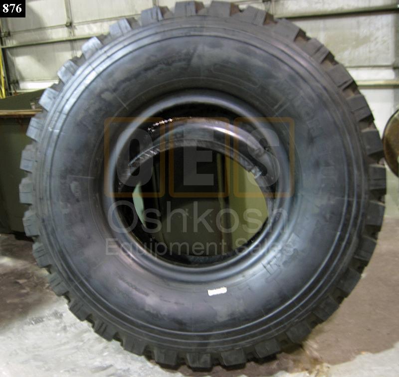 395 85r20 michelin xzl tire w run flat oshkosh equipment. Black Bedroom Furniture Sets. Home Design Ideas