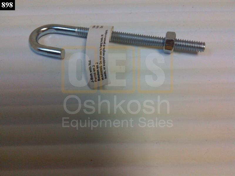Hard Top Hold Down Bolt (J-Bolt) - New Replacement