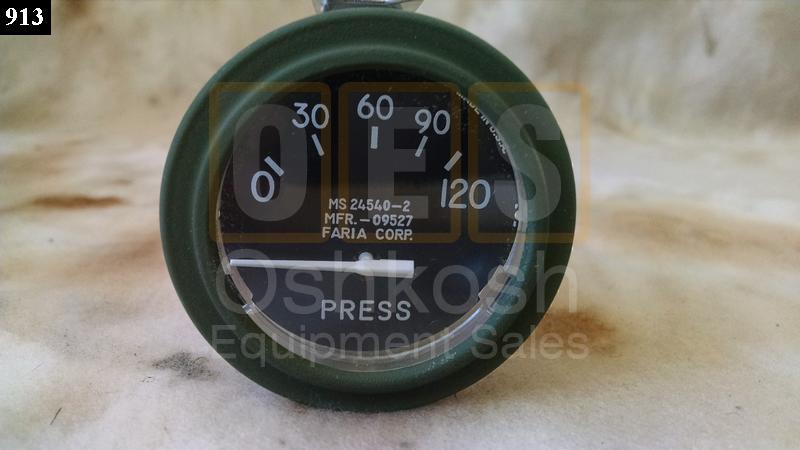Oil Pressure Gauge 0-120 PSI - New Replacement