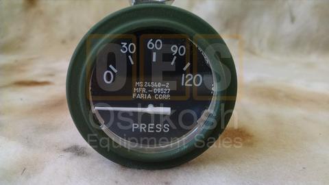 Oil Pressure Gauge 0-120 PSI