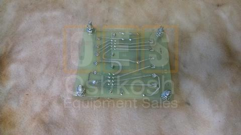 Control Panel A4 Relay Assembly Circuit Board