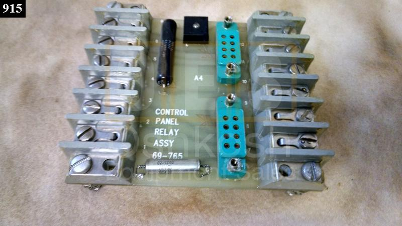 Control Panel A4 Relay Assembly Circuit Board - Used Serviceable