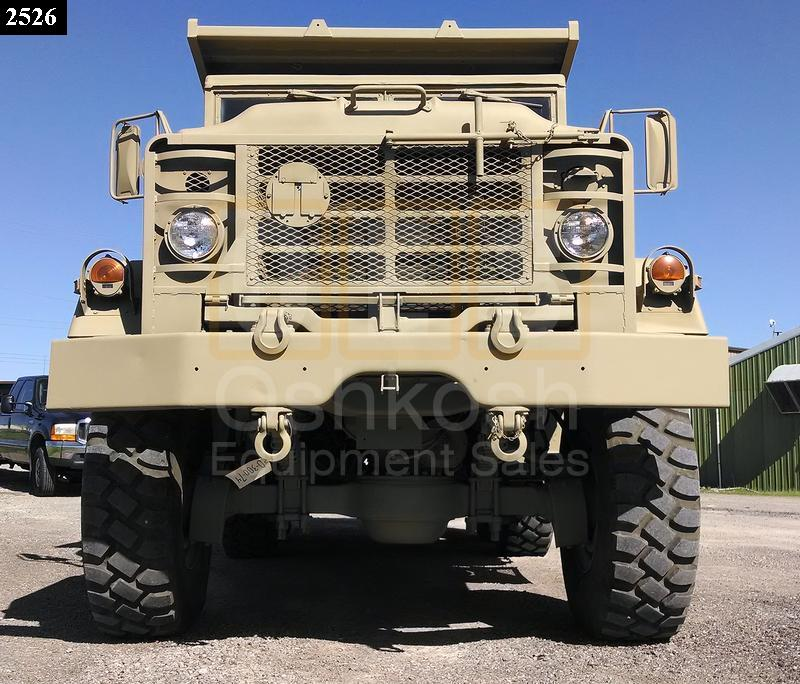 M929A2 5 Ton 6x6 Military Dump Truck (D-300-74) - Oshkosh Equipment