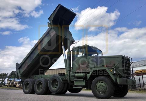 M917 20 Ton 8x6 Military Dump Truck (D-300-80)