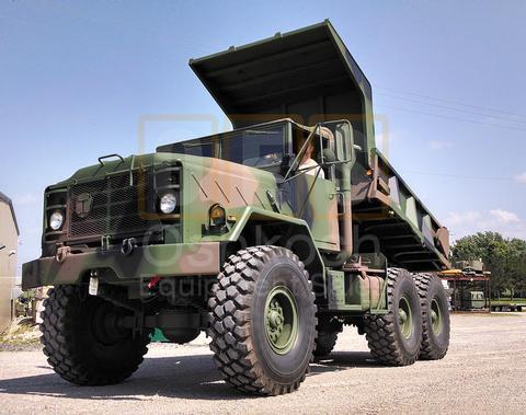 M929A1 5 Ton 6x6 Military Dump Truck (D-300-83)