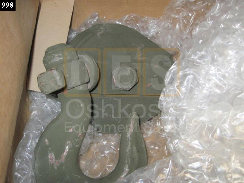 5 Ton Cable Pulley Snatch Block - NOS
