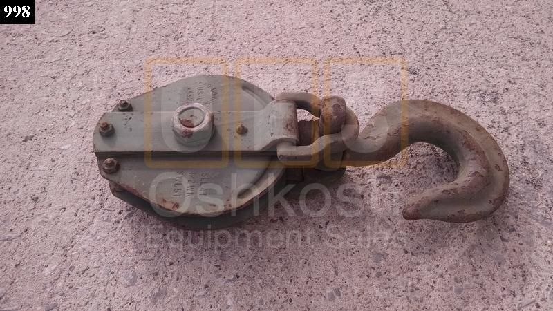 5 Ton Cable Pulley Snatch Block - Used Serviceable