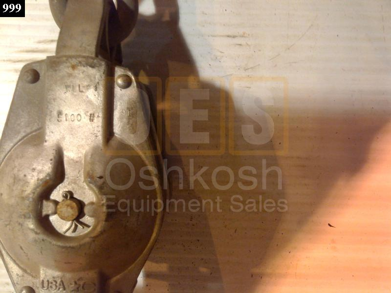 Dual Cable Snatch Block - Used Serviceable