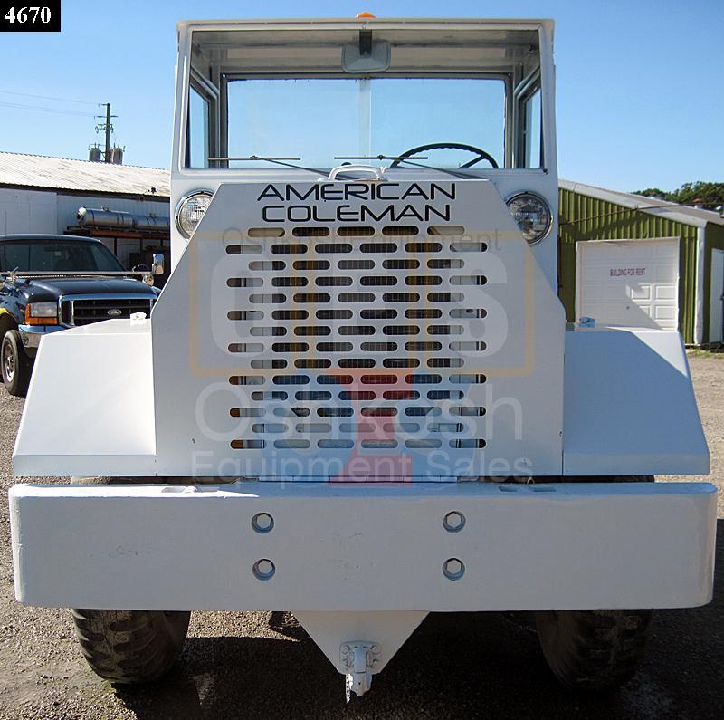 MB-4 AMERICAN COLEMAN AIRCRAFT TUG TRACTOR (AT-800-04