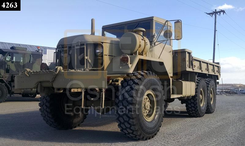 m813 with winch 5 ton 6x6 military cargo truck c 200 69 oshkosh rh oshkoshequipment com
