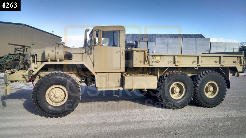 m813 winch 5 ton 6x6 military cargo truck c 200 69 rebuilt reconditioned
