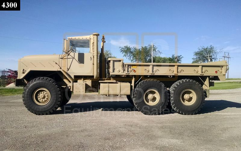 M923 5 Ton 6x6 Military Cargo Truck (C-200-98) - Rebuilt/Reconditioned