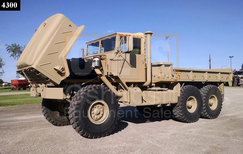 M923 5 Ton 6x6 Military Cargo Truck (C-200-98) - Rebuilt/Reconditioned
