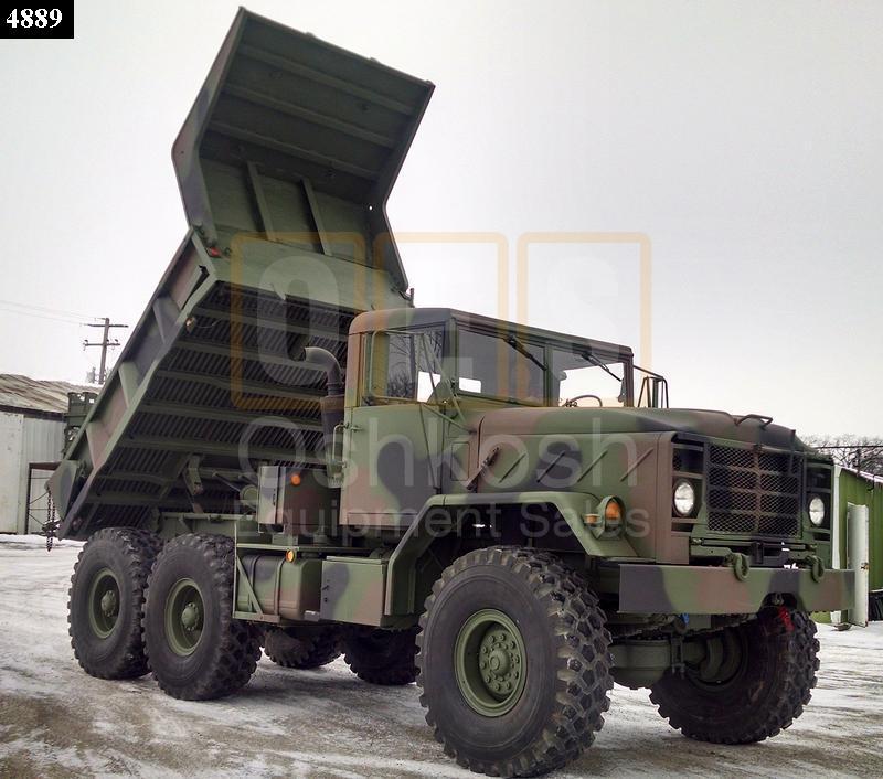 M929 5 Ton 6x6 Military Dump Truck (D-300-86) - Rebuilt/Reconditioned