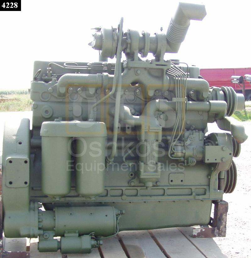 120HP Turbo Charged Allis Chalmers Diesel Engine - Used Serviceable