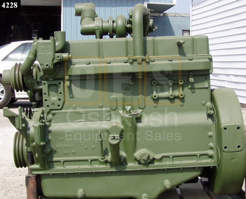 120HP Turbo Charged Allis Chalmers Diesel Engine - Oshkosh