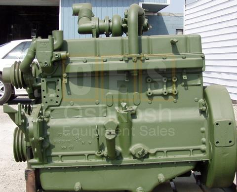 120HP Turbo Charged Allis Chalmers Diesel Engine