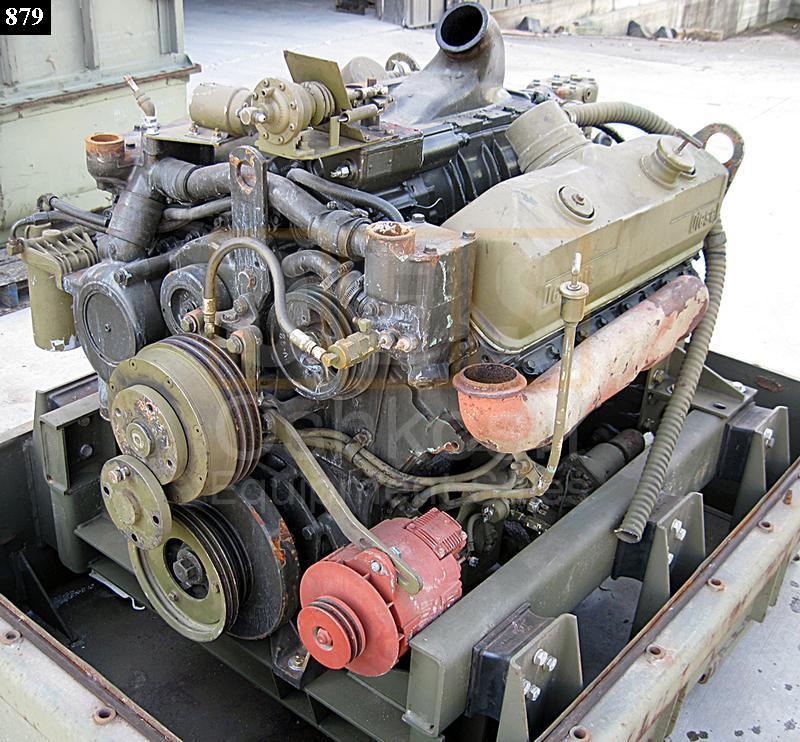 8v92 Detroit Diesel Parts Engine Oshkosh Equipment