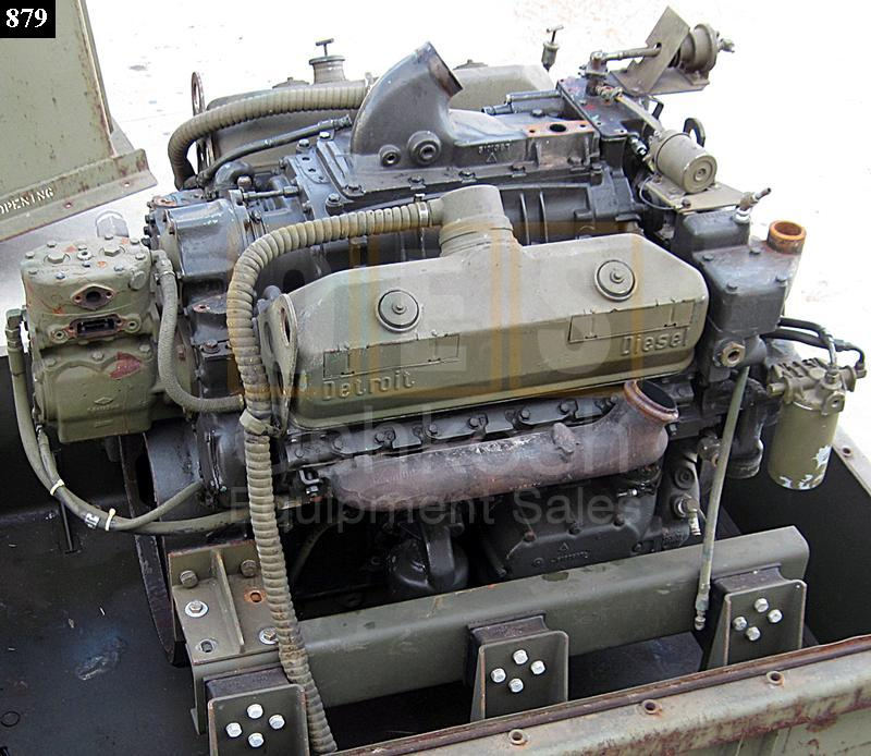 Engines And Auto Parts For Sale: 8V92 Detroit Diesel Parts Engine