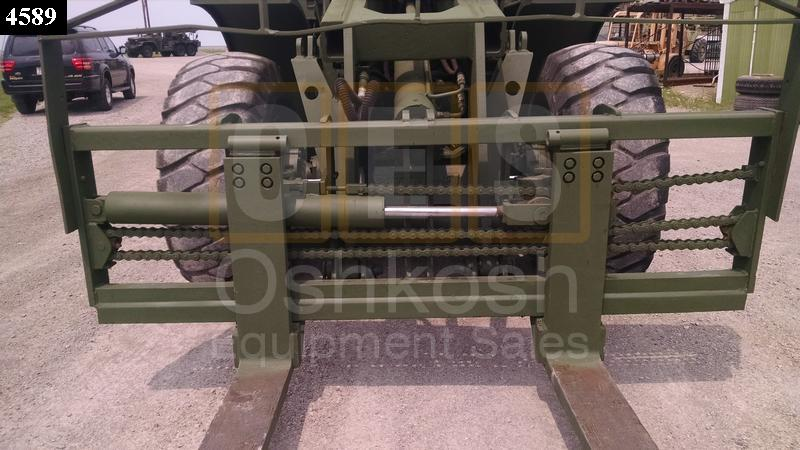 10K Rough Terrain Military Forklift (F-900-01) - Rebuilt/Reconditioned