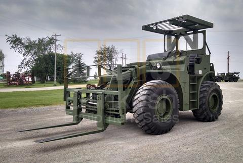 10K Rough Terrain Military Forklift (F-900-01)
