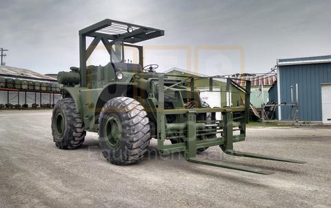 10K Rough Terrain Military Forklift (F-900-01)