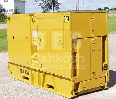 100kW MEP007A Military Genset (G-1400-120)