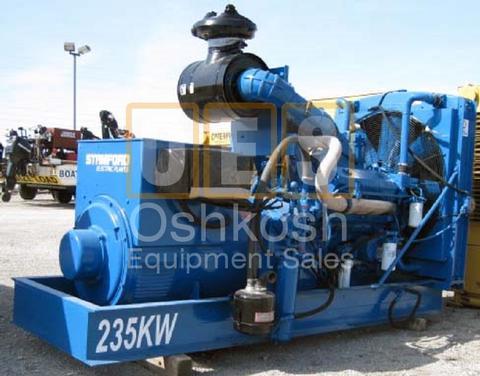 235kW Detroit V8 Euclid Generator