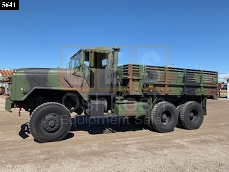 M923A1 5 TON 6X6 MILITARY CARGO TRUCK (C-200-120) - New Replacement