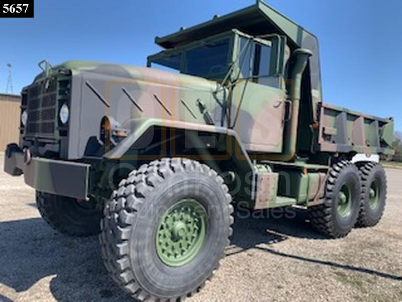 M929 6x6 Military Dump Truck D-300-97 - Rebuilt/Reconditioned