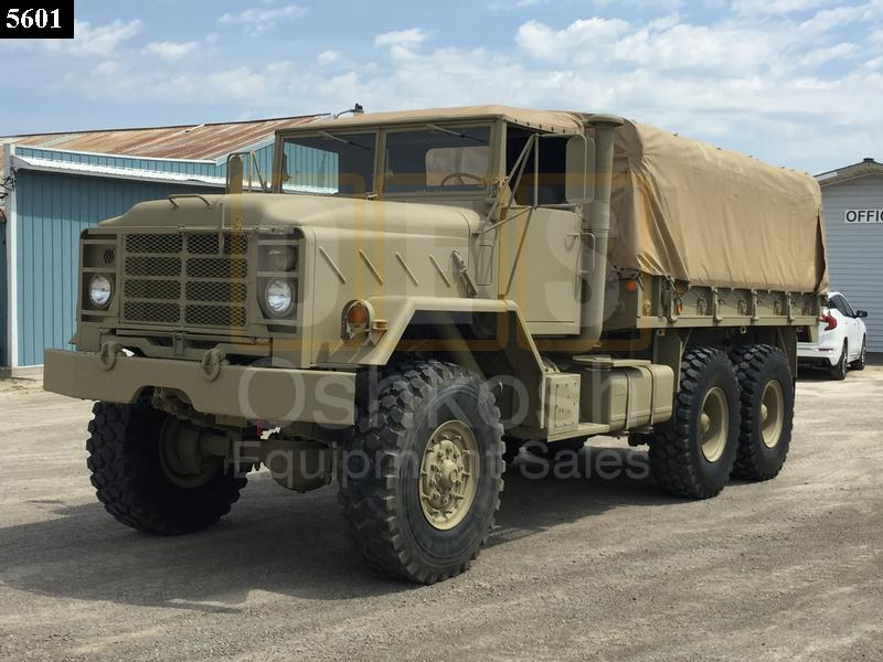 M923 6x6 Military 5 Ton Cargo Truck (C-200-110) - New Replacement