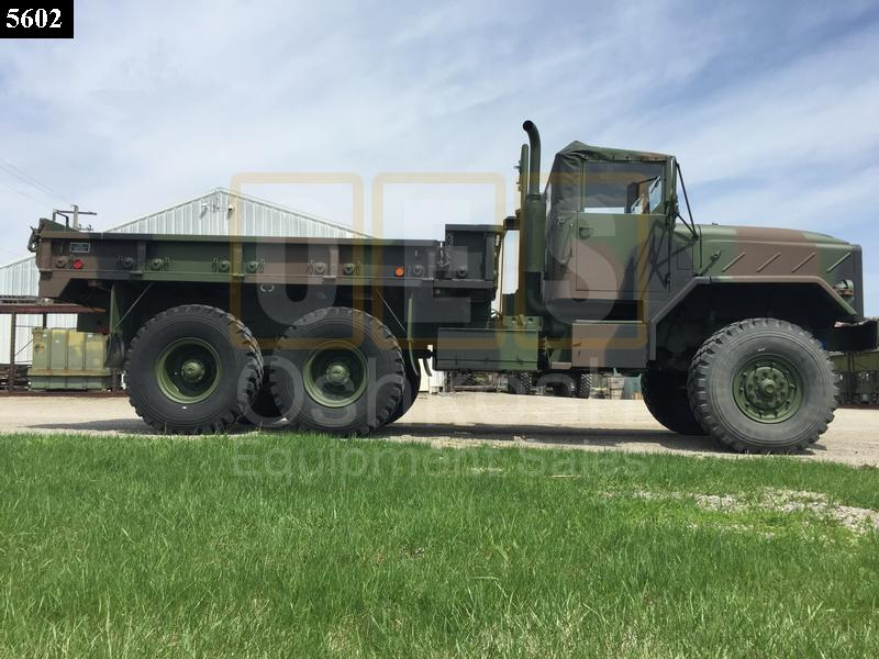 M923A1 5 Ton 6x6 Military Cargo Truck (C-200-112) - Rebuilt/Reconditioned