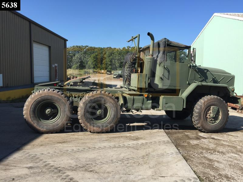 M931A2 6x6 5 Ton Military Tractor Truck (TR-500-67) - Rebuilt/Reconditioned