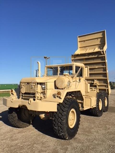M817 5-Ton 6X6 Military Dump (D-300-47)