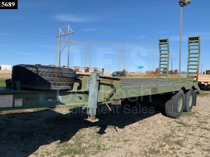 2012 Globe GTTU202-30-20 Equipment Trailer (T-1100-39) - New Replacement