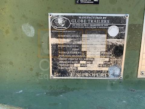 2012 Globe GTTU202-30-20 Equipment Trailer (T-1100-39)