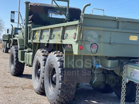 M923A1 5 Ton 6x6 Military Cargo Truck with available 20' Beaver Tail Trailer with Ramps (C-200-132)