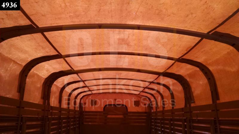 Tan Cargo Cover for XLWB M927 and M928 20ft - Used Serviceable