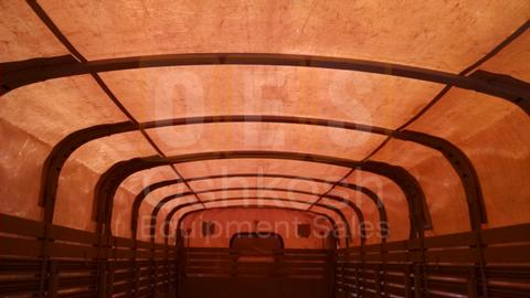 Tan Cargo Cover for XLWB M927 and M928 20ft