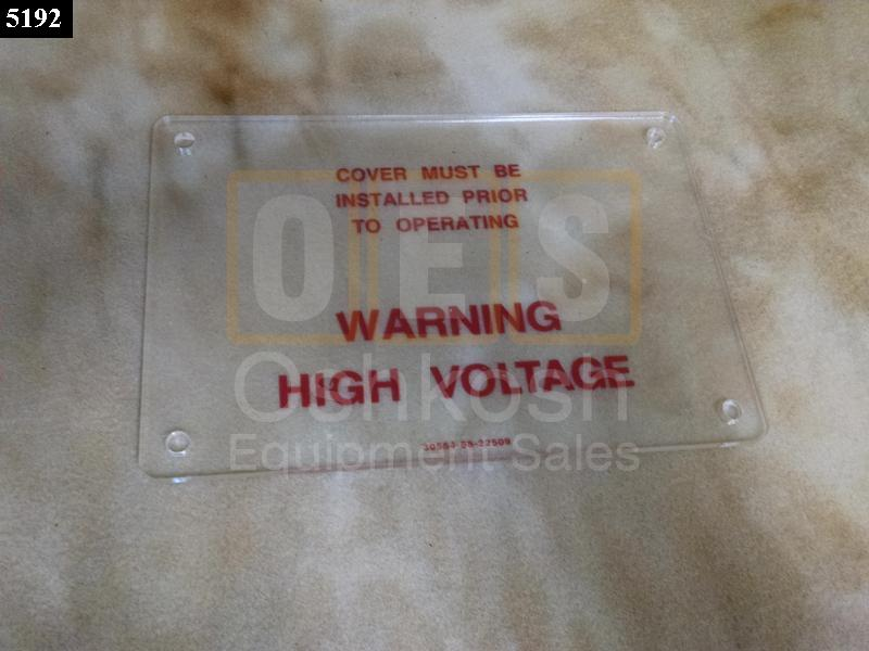 Voltage Re-connection Board Distribution Box Protective Cover - New Replacement